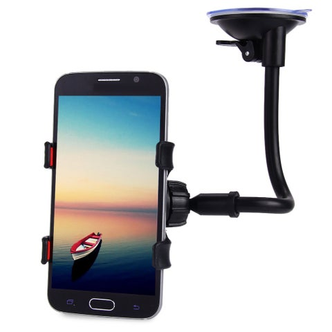 Universal 360 Degrees Rotation Car Windshield Holder Mount Bracket Stand Long Arm for Cell Phones