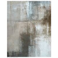 ''Neutral Texture II'' by Tice Abstract Art Print (14.5 x 11.5 in.)