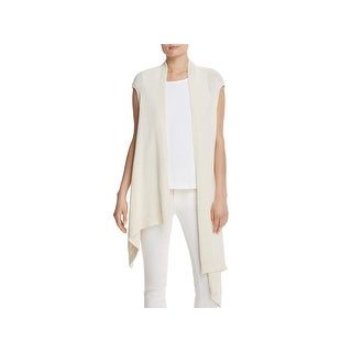 Eileen Fisher Womens Vest Asymmetric Sleeveless