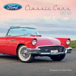 2019 Ford Classic Cars Mini Wall Calendar, Classic Car by Lang Companies