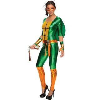 Rubies Michelangelo Bodysuit Adult Costume - Green