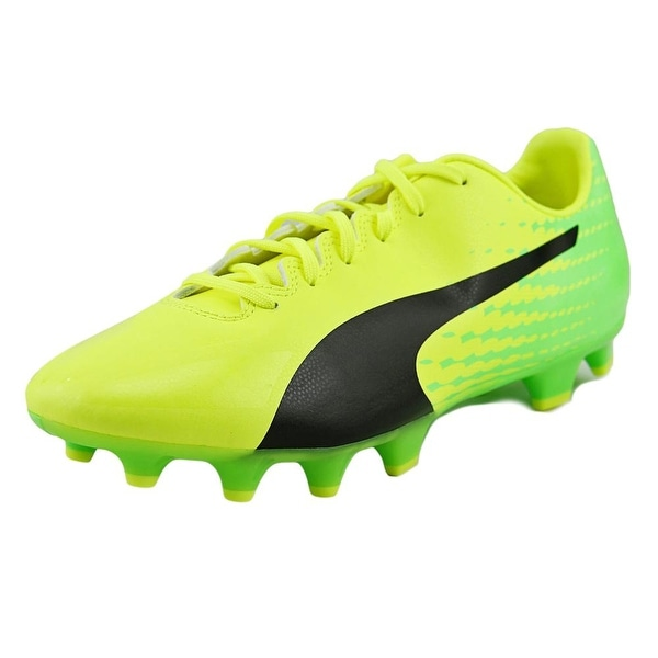 Puma evoSpeed 17.4 FG Men Yellow-Black-Green Cleats