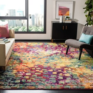Safavieh Monaco Shiloh Boho Watercolor Rug
