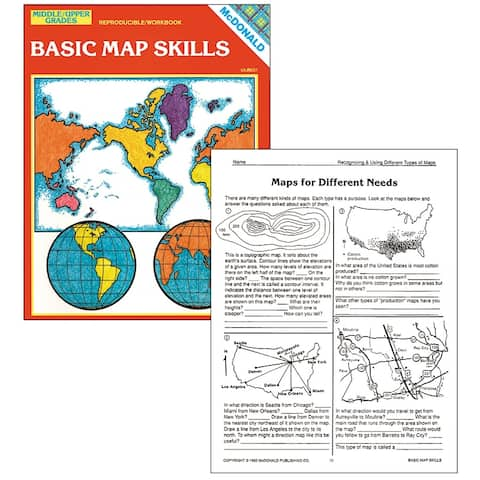 Basic Map Skills Gr 6-9
