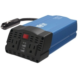 Link to Tripp Lite(R) PV375USB 375-Watt-Continuous PowerVerter(R) Ultracompact Car Inverter with USB & Battery Cables Similar Items in Cables & Connectors