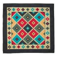 CTM® Southwestern Argyle Bandana - One size