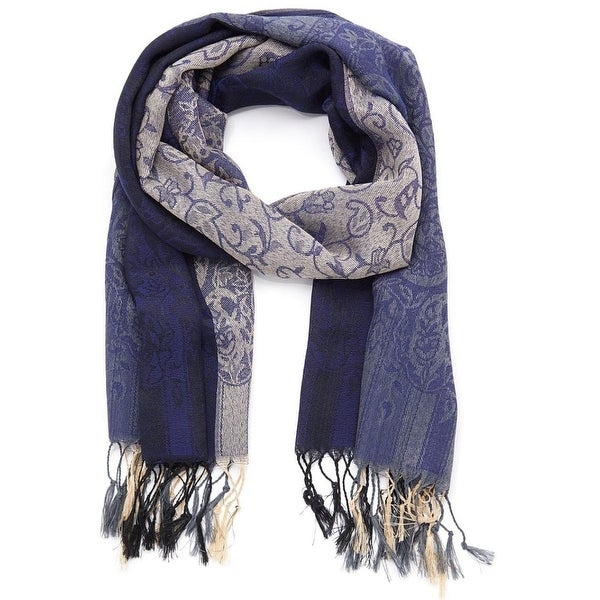 """Oussum Scarves and Wraps Silky Scarf Paisley Scarf Shawls for Women 27""""x70"""" - Large. Opens flyout."""