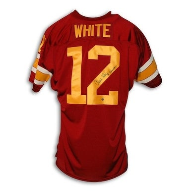 1a5c62535e3 Shop Autographed Charles White USC Maroon Throwback Jersey inscribed