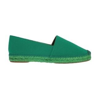 Dolce & Gabbana Dolce & Gabbana Green Wool Espadrilles Loafers