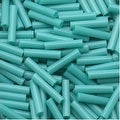 Toho Bugle Tube Beads Size 3 2x9mm Opaque Turquoise 10 Grams - Thumbnail 0
