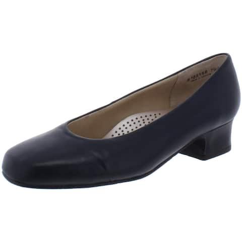 Mark Lemp Classics by Walking Cradles Womens Callie Dress Pumps Leather