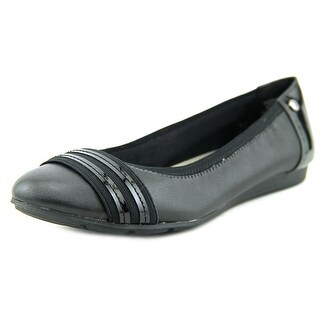 Anne Klein Sport Atworth Women Round Toe Leather Flats