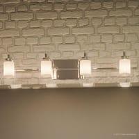"Luxury Modern Bathroom Vanity Light, 6""H x 29""W, with Posh Style, Polished Chrome Finish"