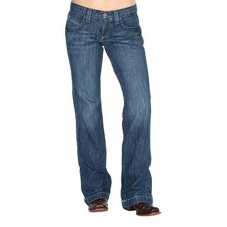 Cinch Western Denim Jeans Womens Bailey Relaxed Sanding