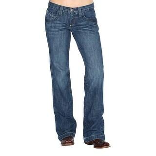 Cinch Western Denim Jeans Womens Bailey Relaxed Sanding