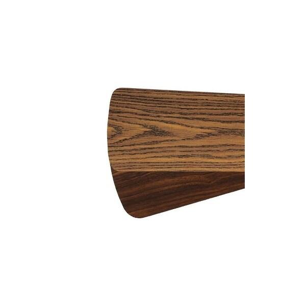 """Quorum International 5255624121 Set of 5 Reversible Blades for 52"""" Fan - dark oak/walnut"""