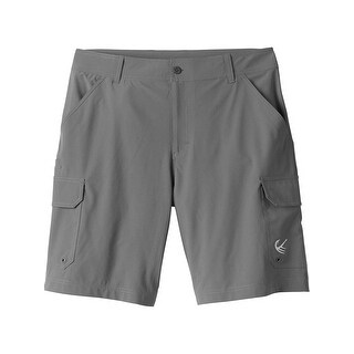 Legendary Whitetails Men's Rocky Point Cargo Short - tornado gray