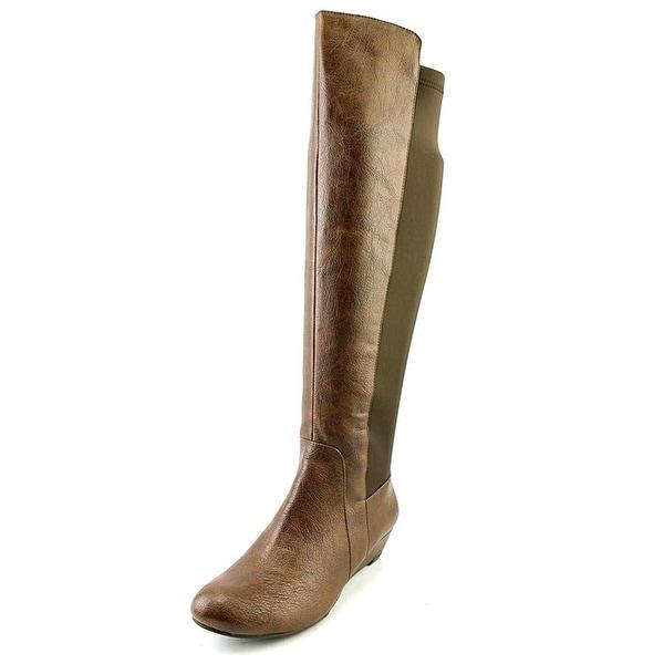 Jessica Simpson Womens Joline Almond Toe Knee High Fashion Boots