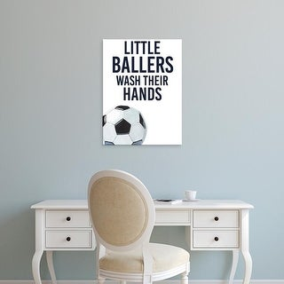 Easy Art Prints Studio W's 'Little Ballers II' Premium Canvas Art