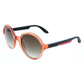 Carrera CA5008/S 00TC Clear Coral Round Sunglasses