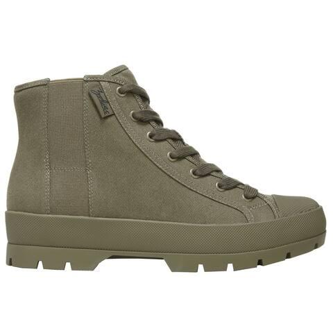 Zodiac Logan High Womens Sneakers Shoes Casual - Green