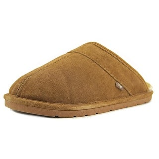 Dije California Scuff Slipper Round Toe Leather Slipper