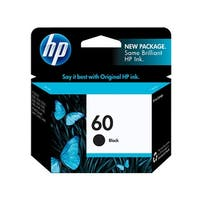 HP 60 Black Original Ink Cartridge (CC640WN)(Single Pack)
