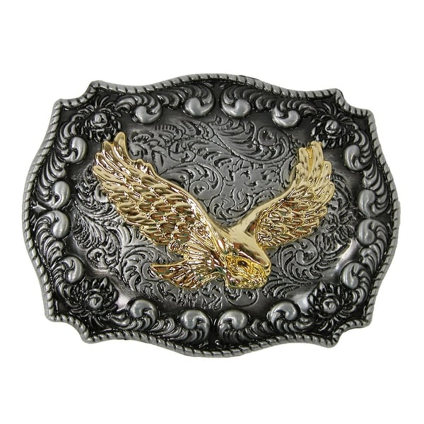 CTM® Eagle Western Belt Buckle - one size