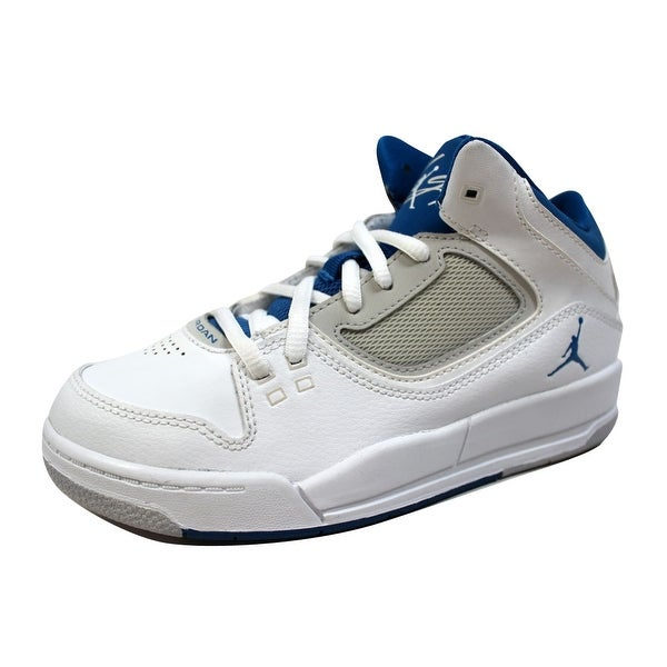 efe637889f2 Nike Pre-School Air Jordan Flight 23 RST White/Military Blue-Neutral Grey