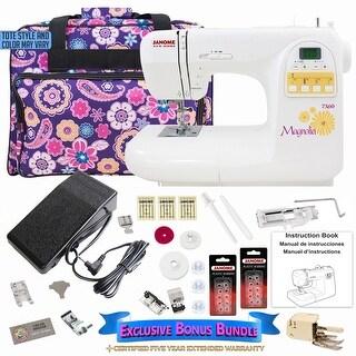 Janome Magnolia 7360 Sewing Machine with Exclusive Bonus Bundle