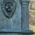 Sunnydaze Imperial Lion Solar Wall Fountain - Thumbnail 6