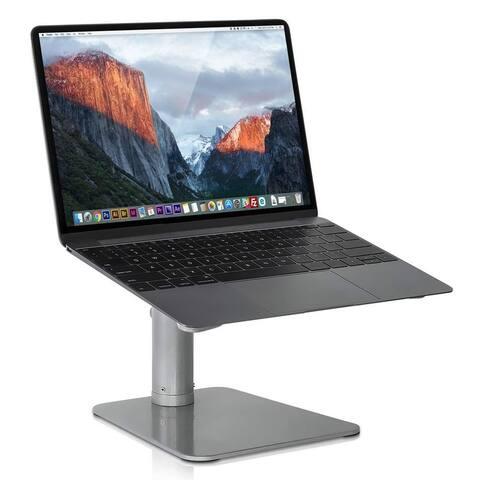 Mount-It! Macbook Stand Adjustable Height Laptop Riser