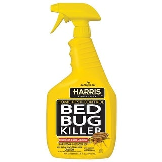 Harris HBB-32 Home Pest Control Bed Bug Insect Killer, 32 Oz