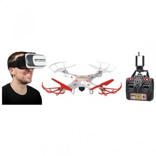 World Tech Toys 33841 Striker Live Video Feed Camera Spy Drone