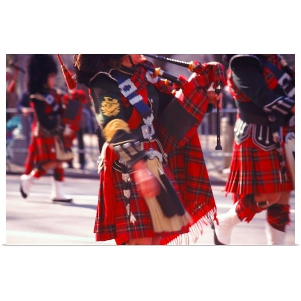 """""""bagpipers"""" Poster Print"""