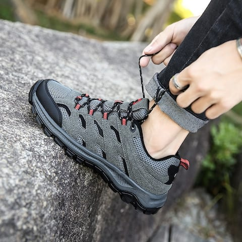 Hiking Shoes Non-Slip Wear-Resistant Rock Climbing Large Size Leisure Outdoor Hiking Shoes
