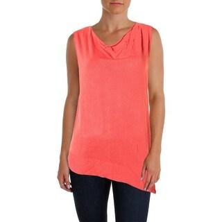Colour Works Womens Knit Cowl Neck Sweater Vest - L