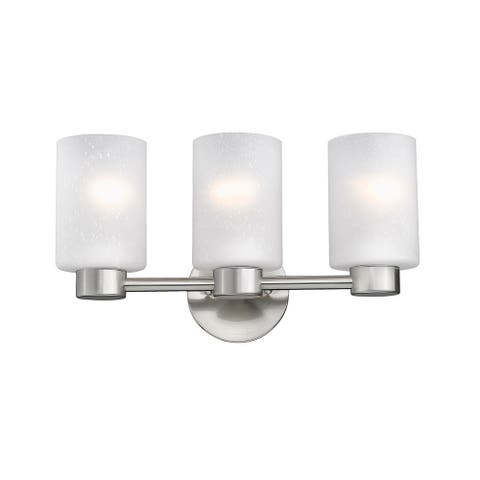 Aea 3-Light Opal Bathroom Vanity Light Glass Shades - N/A