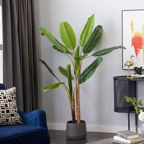 "Banana Tree Artificial Plant 53"" Green - 53X45X53"