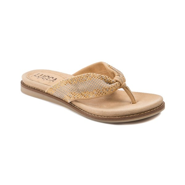 Lucca Lane Becka Women's Sandals & Flip Flops Buff