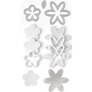 Queen & Company Shaker Shape Kit-Flowers