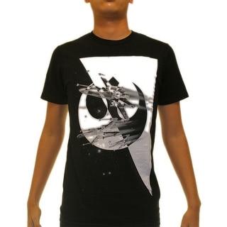 Star Wars X-Wing Starfigther Rebel Alliance Men's Black T-shirt
