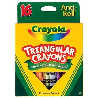Crayola - Triangular Crayon Set
