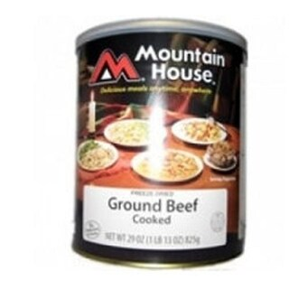 Mountain House Ground Beef Can with High quality components - Entrees