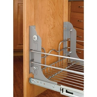 Rev-A-Shelf 5WB-DMKIT Door Mount Kit for 5WB Seris Pullout Baskets - N/A