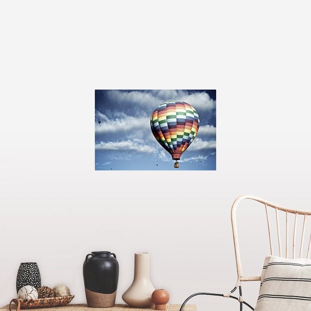 Hot Air Balloons Art Print By Pug Pup Prints Fy