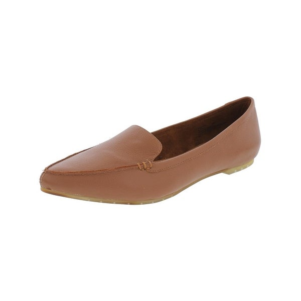 Me Too Womens Audra Loafers Pointed Toe Dress