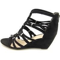 Bar III Womens Kaylan Fabric Open Toe Casual Platform Sandals