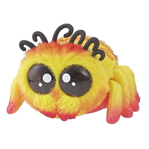 Yellies! Voice & Sound Activated Electronic Spider Pet - Peeks - Multi