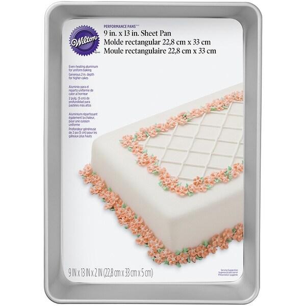 """Performance Cake Pan-Sheet 9""""X13""""X2"""""""